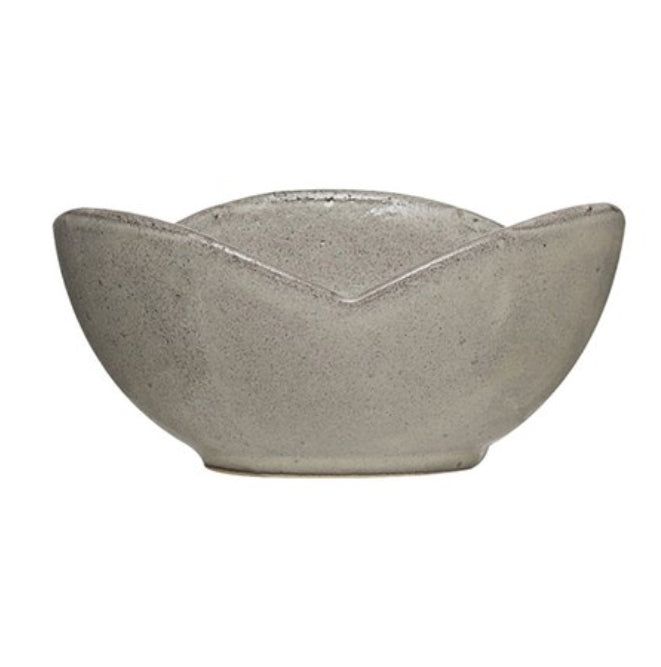 Stoneware Flower Shaped Bowls