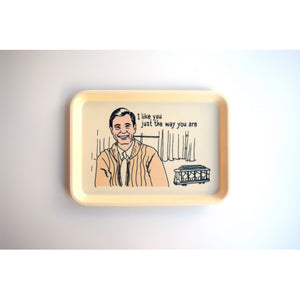 Mr. Rogers Trinket Tray