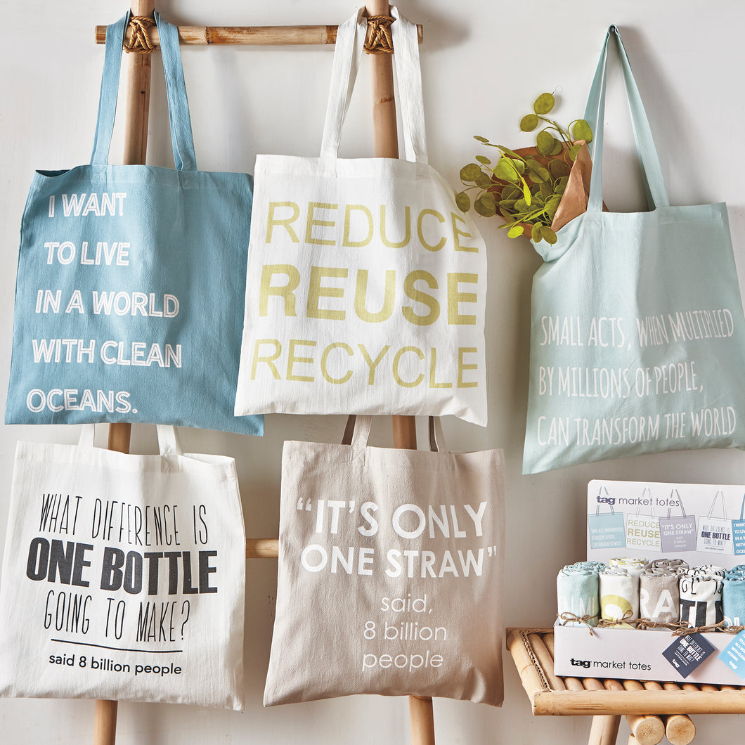 Natural Living Market Totes