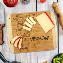 Load image into Gallery viewer, A Slice of Life Vermont Cutting Board