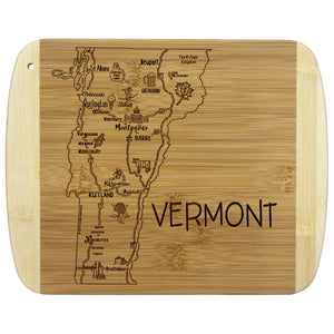 A Slice of Life Vermont Cutting Board