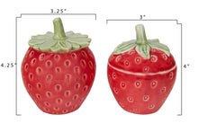 Load image into Gallery viewer, Stoneware Strawberry Jars
