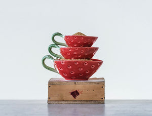 Strawberry Nesting Bowls