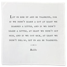 "Load image into Gallery viewer, Flour Sack Dish Towels/Napkins (""Gratitude"" Theme)"