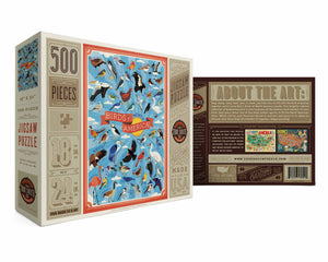 Birds of America Puzzle by True South