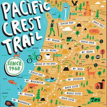 Load image into Gallery viewer, Pacific Coast Trail Puzzle by True South Puzzle