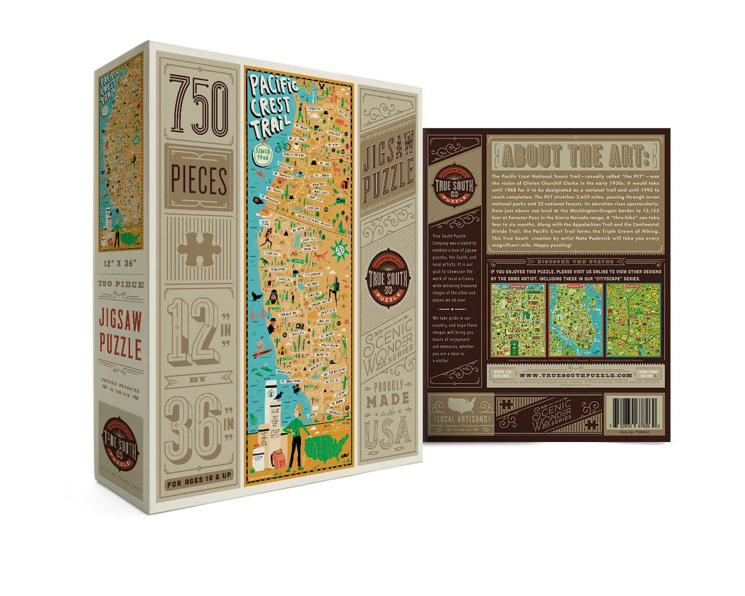 Pacific Coast Trail Puzzle by True South Puzzle