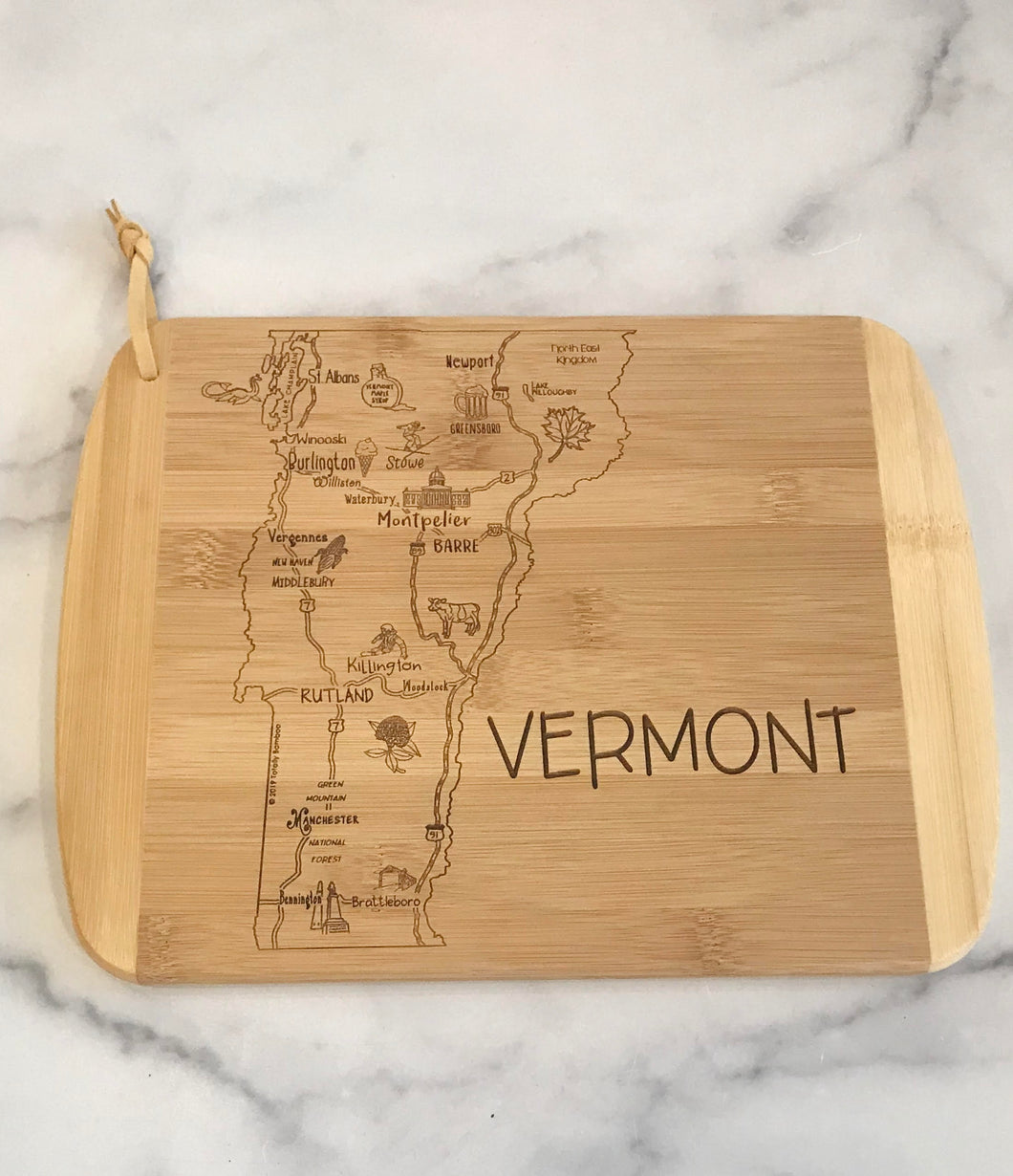 Small Vermont Cutting & Serving Board