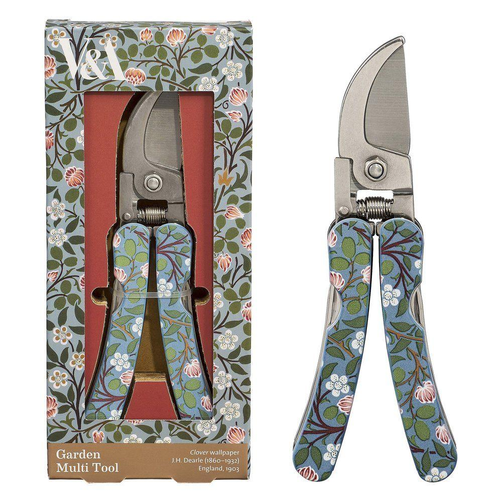 Garden Multi-Tool With Clover Wallpaper Print