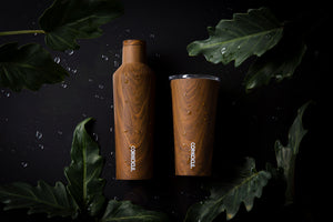 Corkcicle Walnut Wood Origins Collection