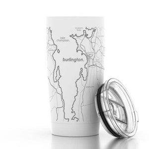 Burlington Map Drinkware by Well Told