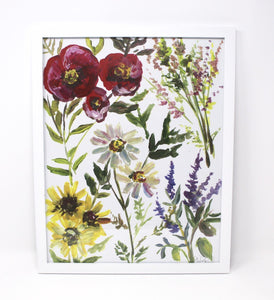 Wildflower Art Print by Shelby Kregel