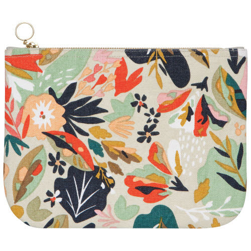 Superbloom Large Zip Pouch