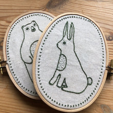 Load image into Gallery viewer, Critters Embroidery Kit