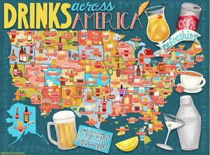 Drinks Across America by True South Puzzle