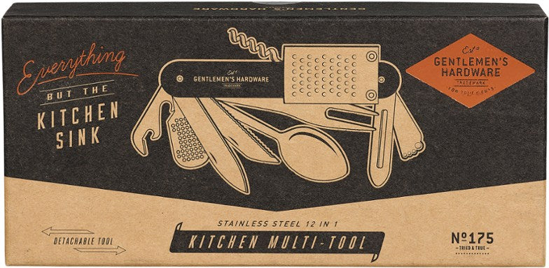 Gentlemen's Hardware 12 in 1 Kitchen Multi-Tool