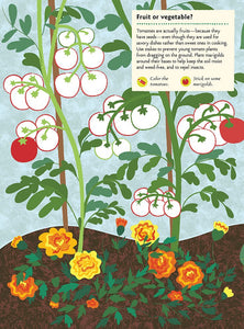 My Nature Sticker Activity Book - In The Vegetable Garden by Olivia Cosneau
