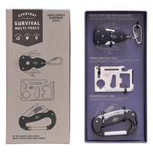 Load image into Gallery viewer, Gentlemen's Hardware Survival Multi-Tool, Set of 3