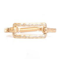 Meghan Browne Bracelets Gold Rectangle/Bling