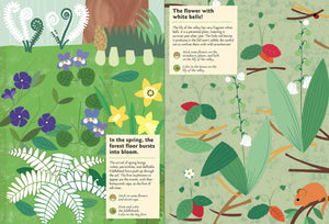My Nature Sticker Activity Book - In the Forest:  By Olivia Cosneau