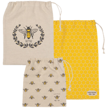 Load image into Gallery viewer, Busy Bee Produce Bag Set
