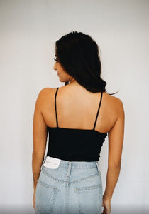 Riley Bodysuit Black Back View