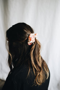 Fabric Scrunchie Sunset Floral