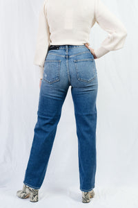 High Rise Dad Jeans