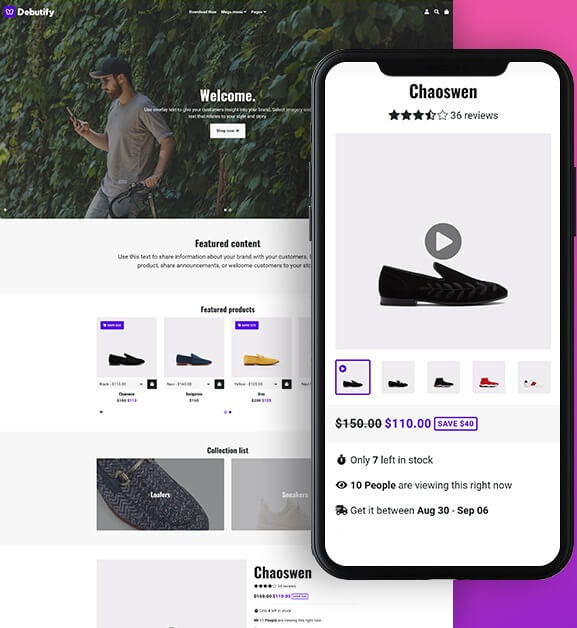 Free Shopify Theme Debutify