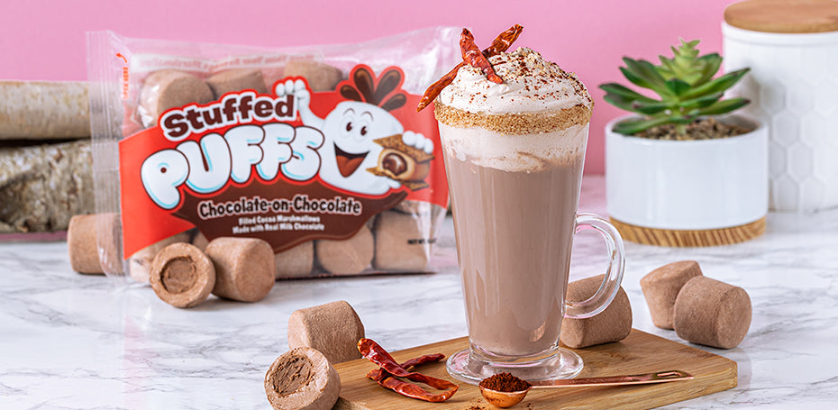 Stuffed Puffs® Mexican Hot Chocolate