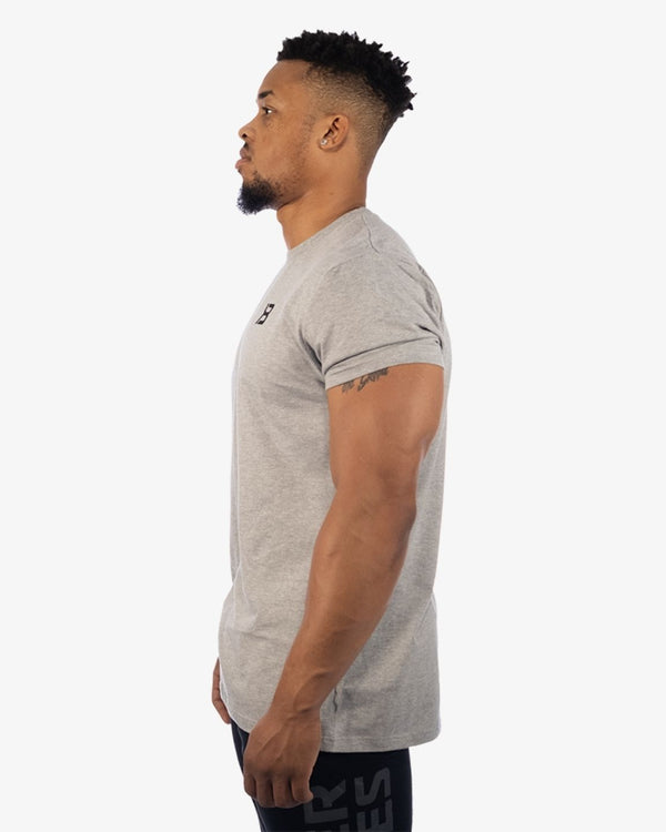 Better Bodies Essential Tee Grey Melange