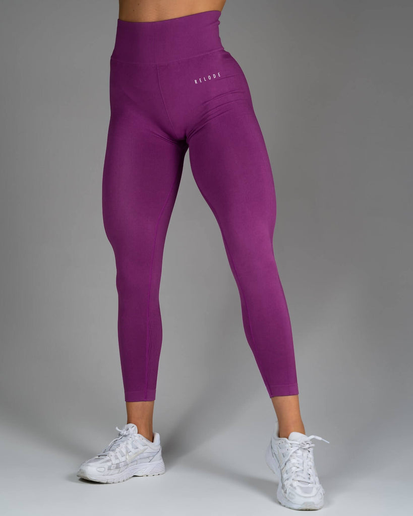 Relode Slipstream Tights Blossom Purple