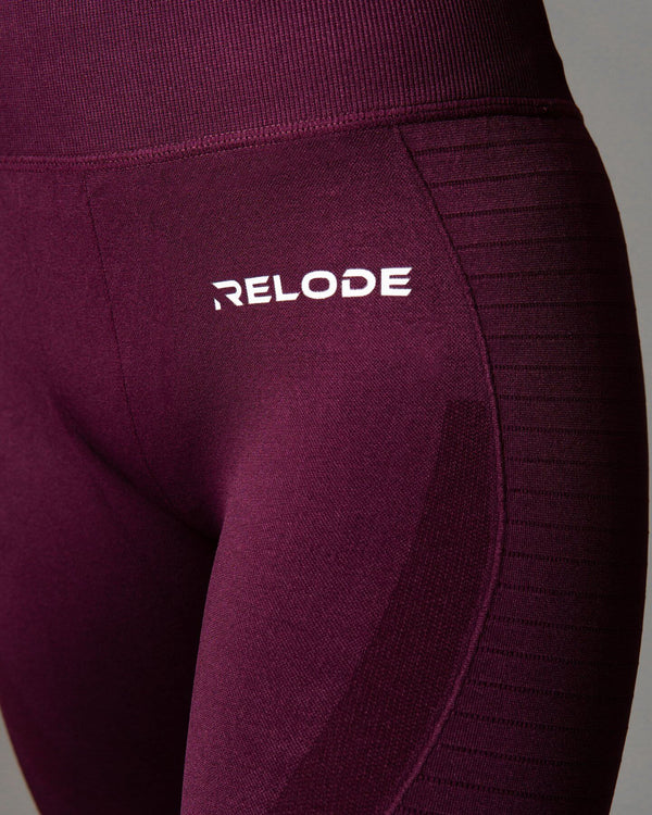 Relode Power Seamless Tights Red