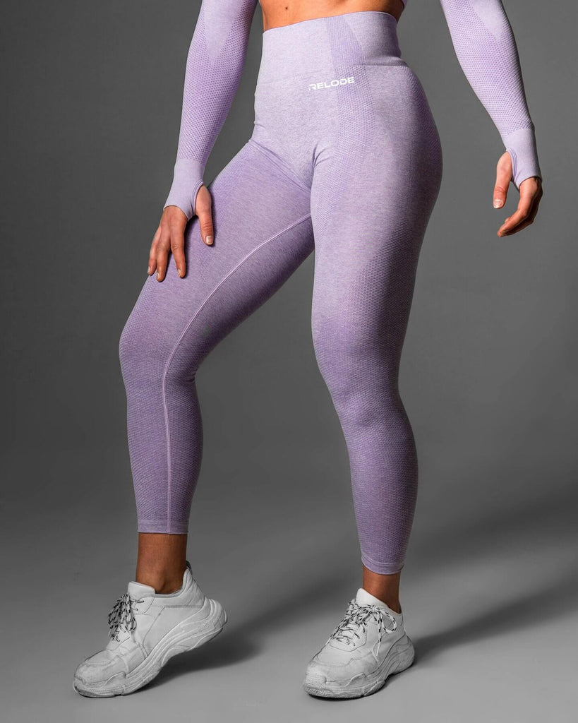 Relode Lilac Seamless Tights