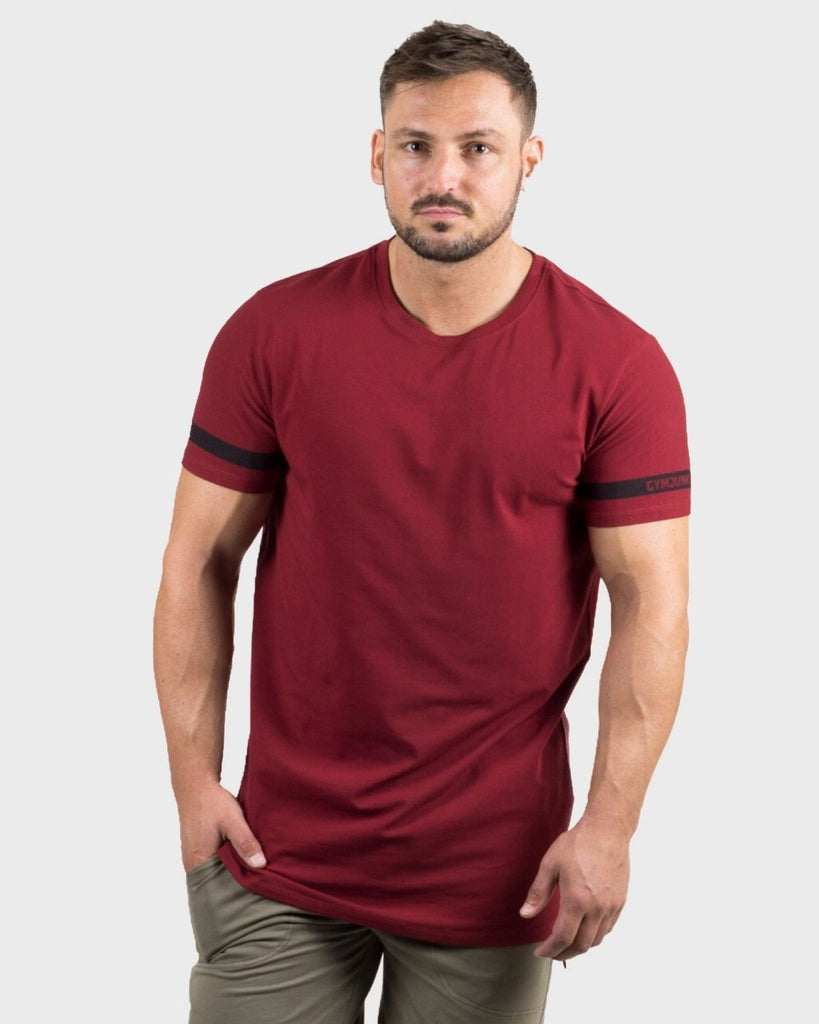 Gymjunky Iconic T-Shirt Deep Red