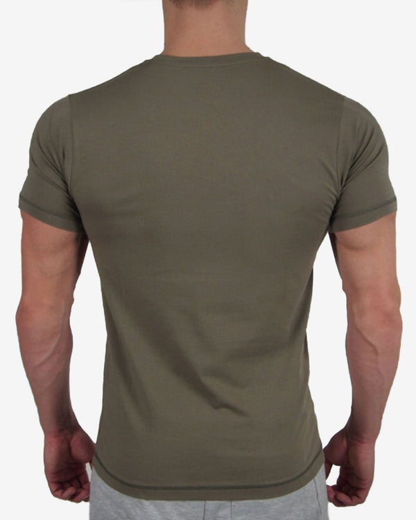 Gymjunky Original Shirt Military Greenv
