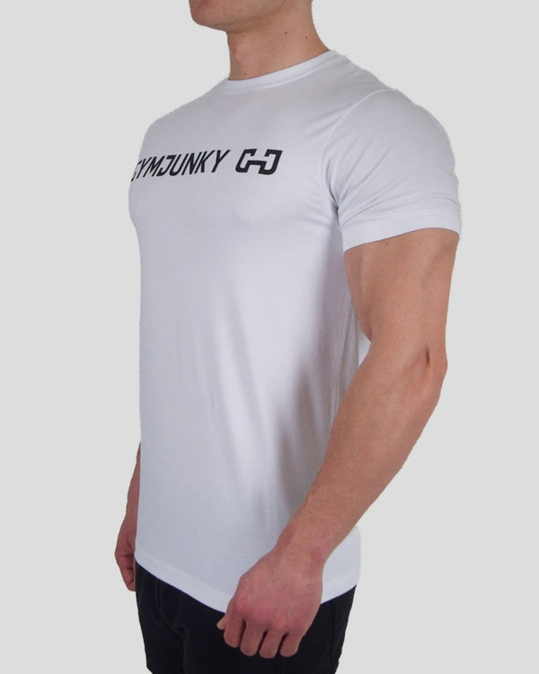 Gymjunky Original Shirt White