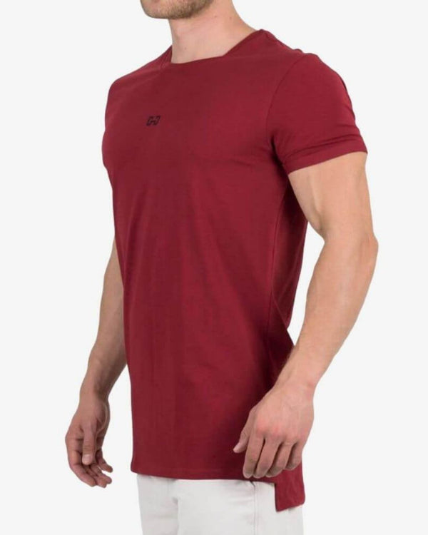 Gymjunky Signature T-Shirt Deep Red