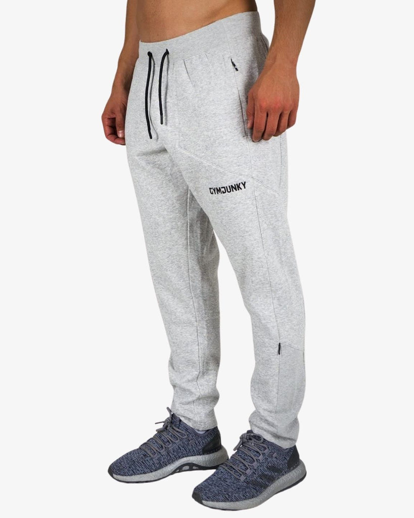 Gymjunky Staq Pants Heather Grey
