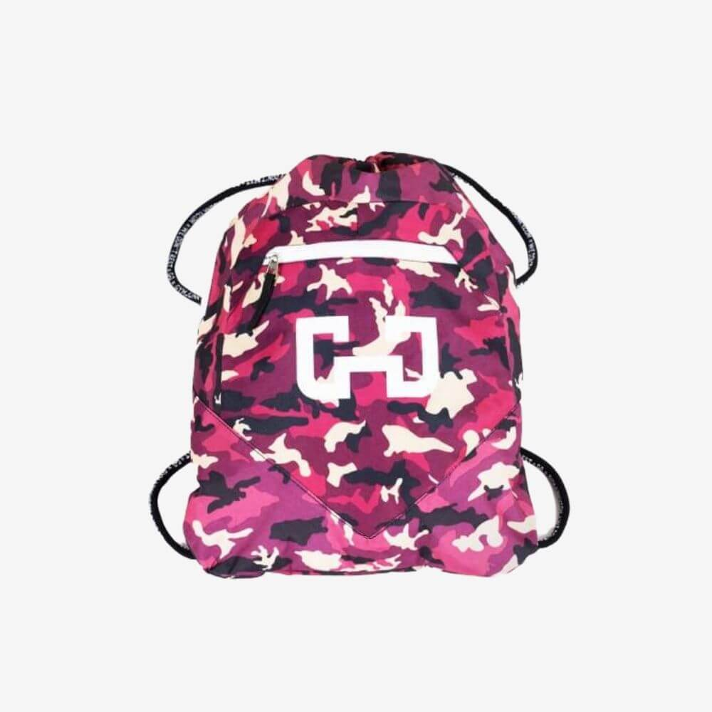 Gymjunky Gym Sack Purple Camo