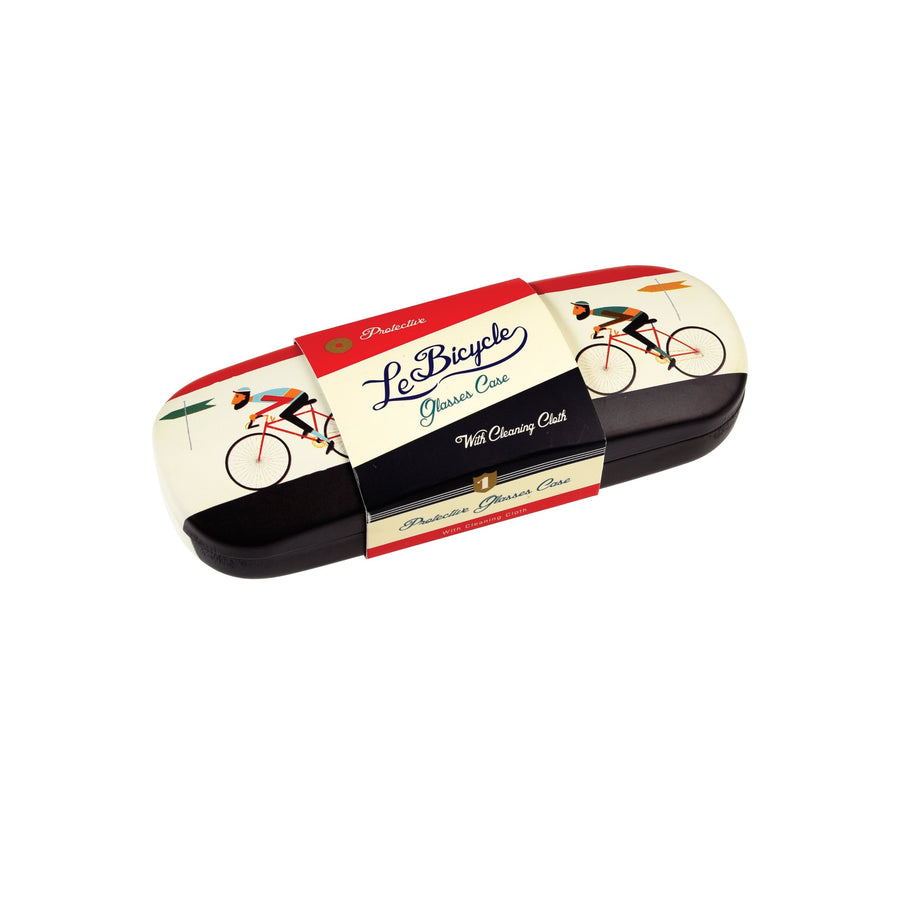 BICYCLE GLASSES CASE WITH CLEANING CLOTH