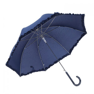 Navy diamante Umbrella