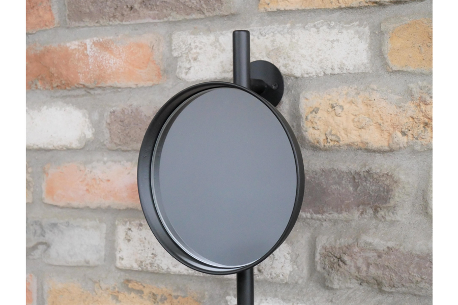 Utility Mirror With Shelves