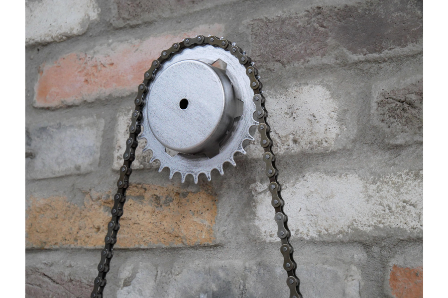 Bike Chain Clock