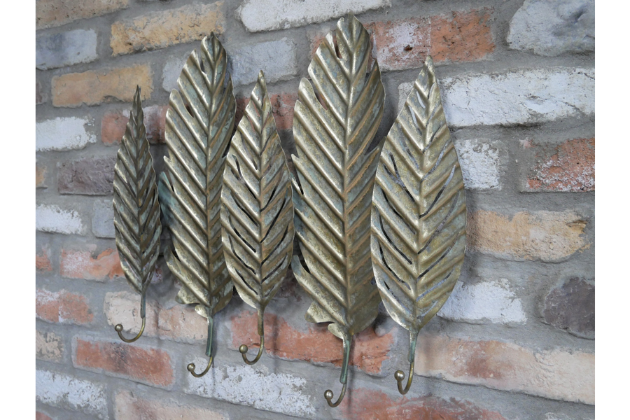Leaves Coat Hooks