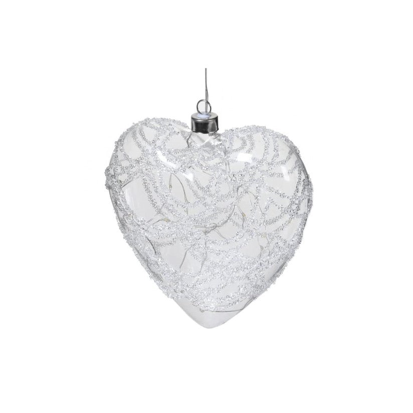 Light up Glass Heart