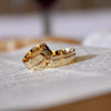 Effortless Polished Gold Wedding Band