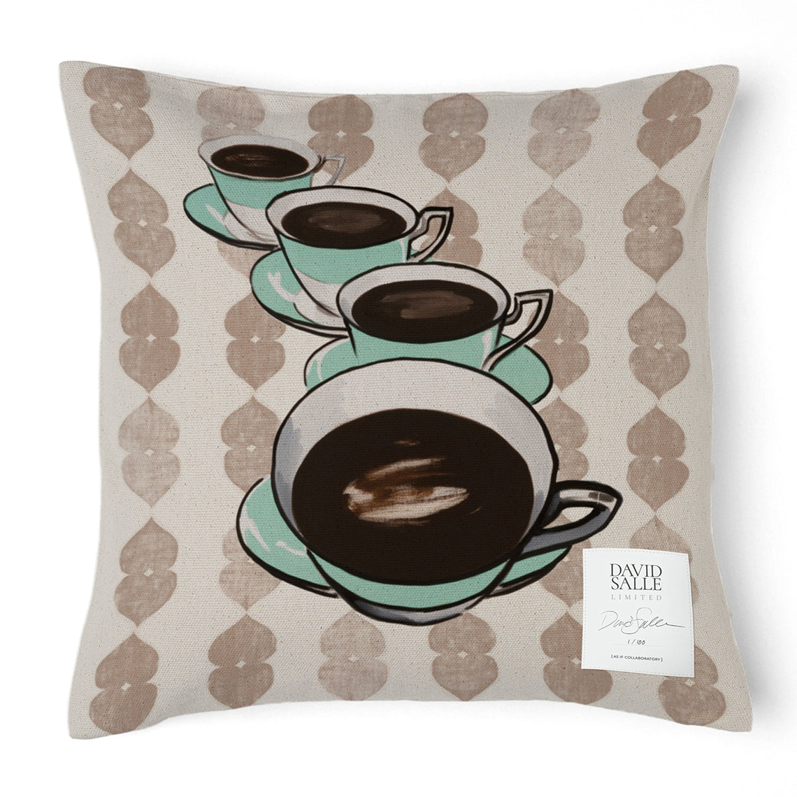 SALLE CUPS PILLOW