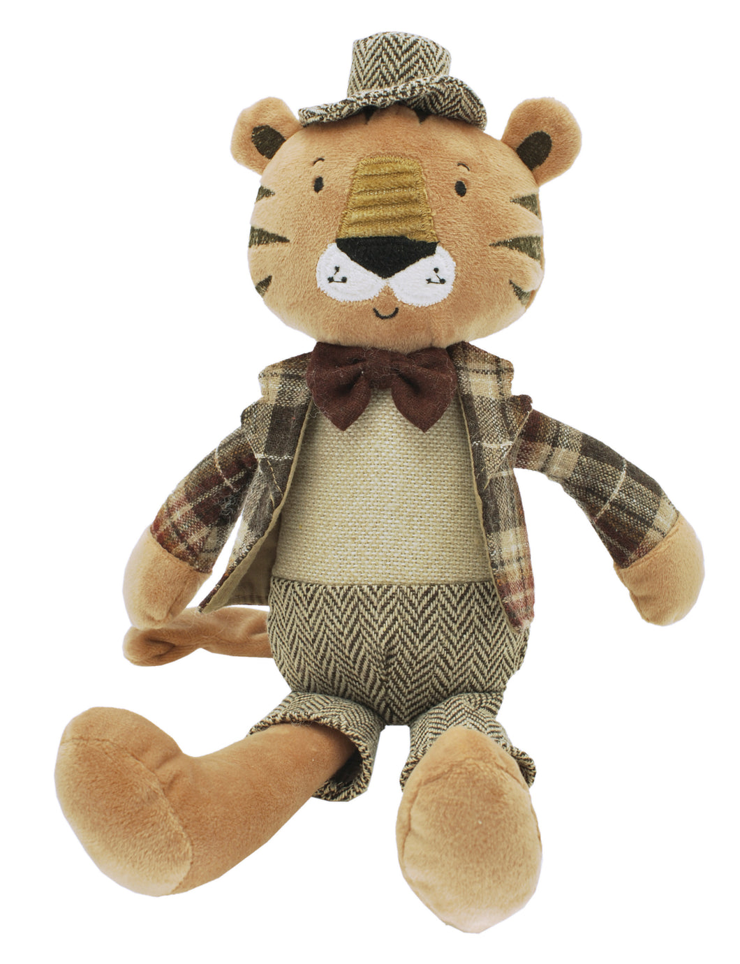 """Rob"" The Dressed Tiger Soft Toy"