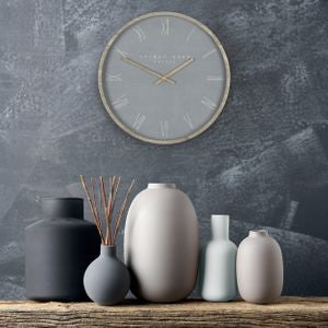 Nordic Cement Small Wall Clock